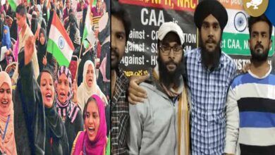 Photo of Hyderabad: Sikh brothers join Anti-CAA protest at Sun City