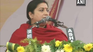 Photo of Proud of men of my country: Smriti Irani