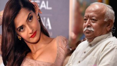 Photo of Sonam Kapoor slams Bhagwat's 'regressive' remark on divorce