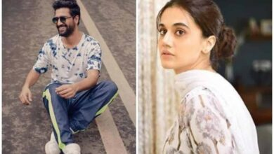 Photo of Taapsee Pannu reacts to Vicky Kaushal's 'Bhoot' teaser