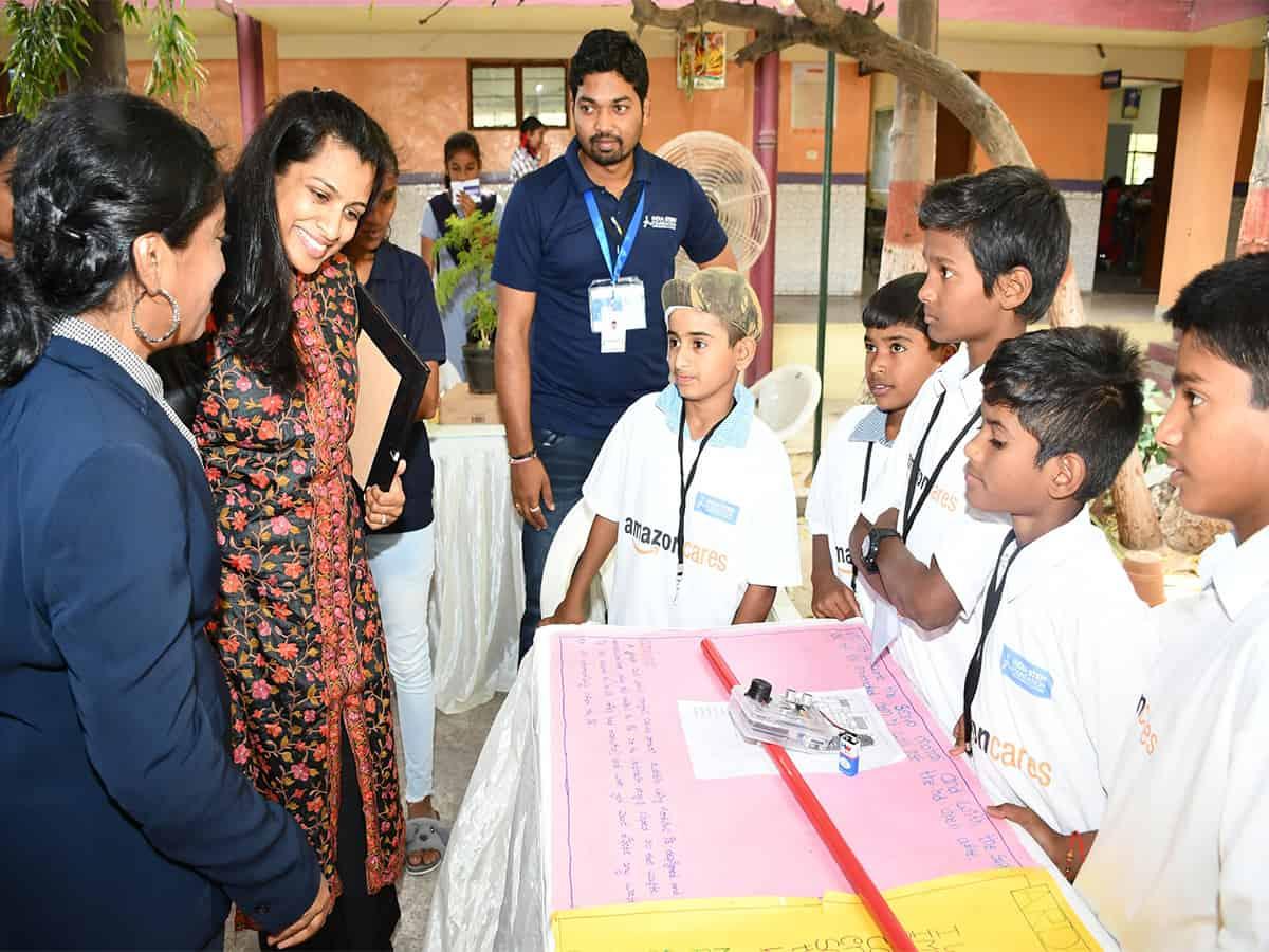 Amazon Cares organises STEM Celebration Day