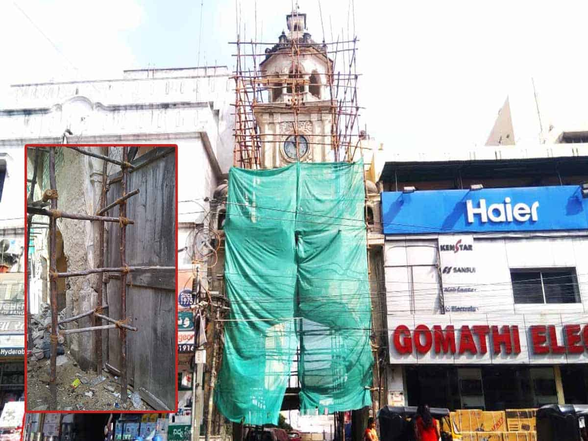 Shah Ali Banda clock tower all set to chime once again in city