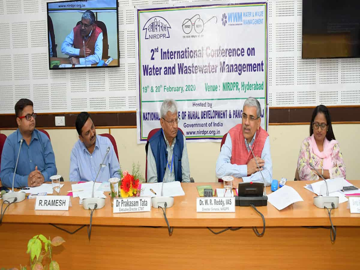 NIRDPR hosts 2nd conference on water and wastewater