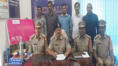 Photo of Habitual burglar arrested in Hyderabad