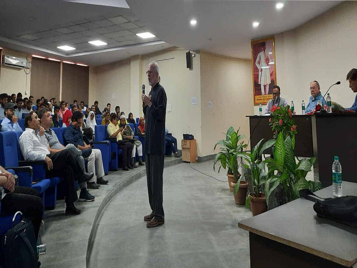 Panel Discussion on 'Spirituality at workplace' held in MANUU