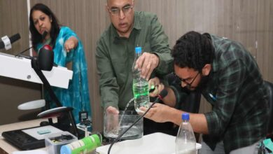 Photo of Sessions on Laser and Optics Activity at MANUU