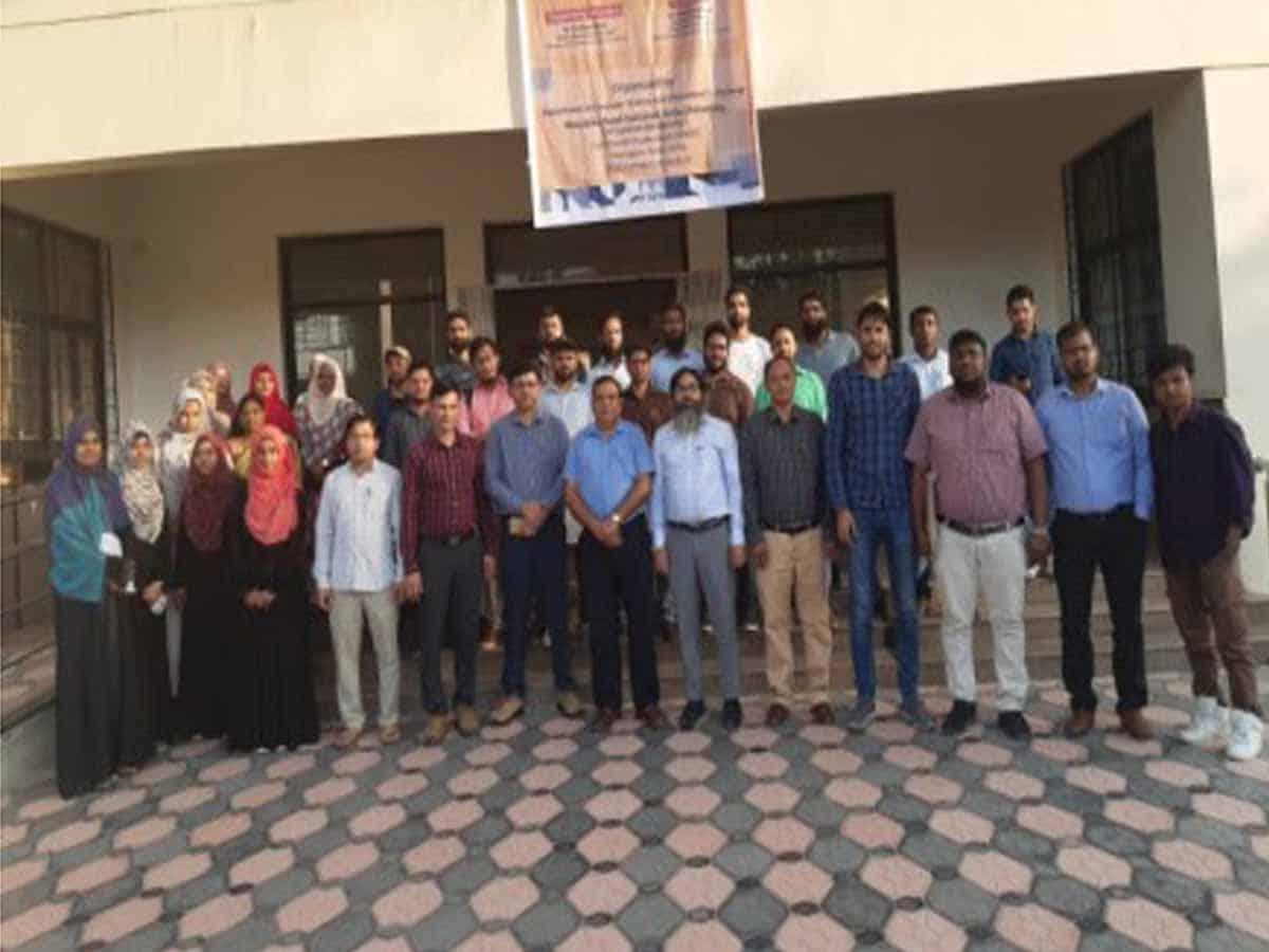 DRDO sponsored Faculty Development Program at MANUU
