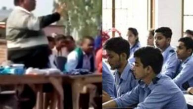 Photo of UP principal 'advises' students to place Rs 100 in answer sheets
