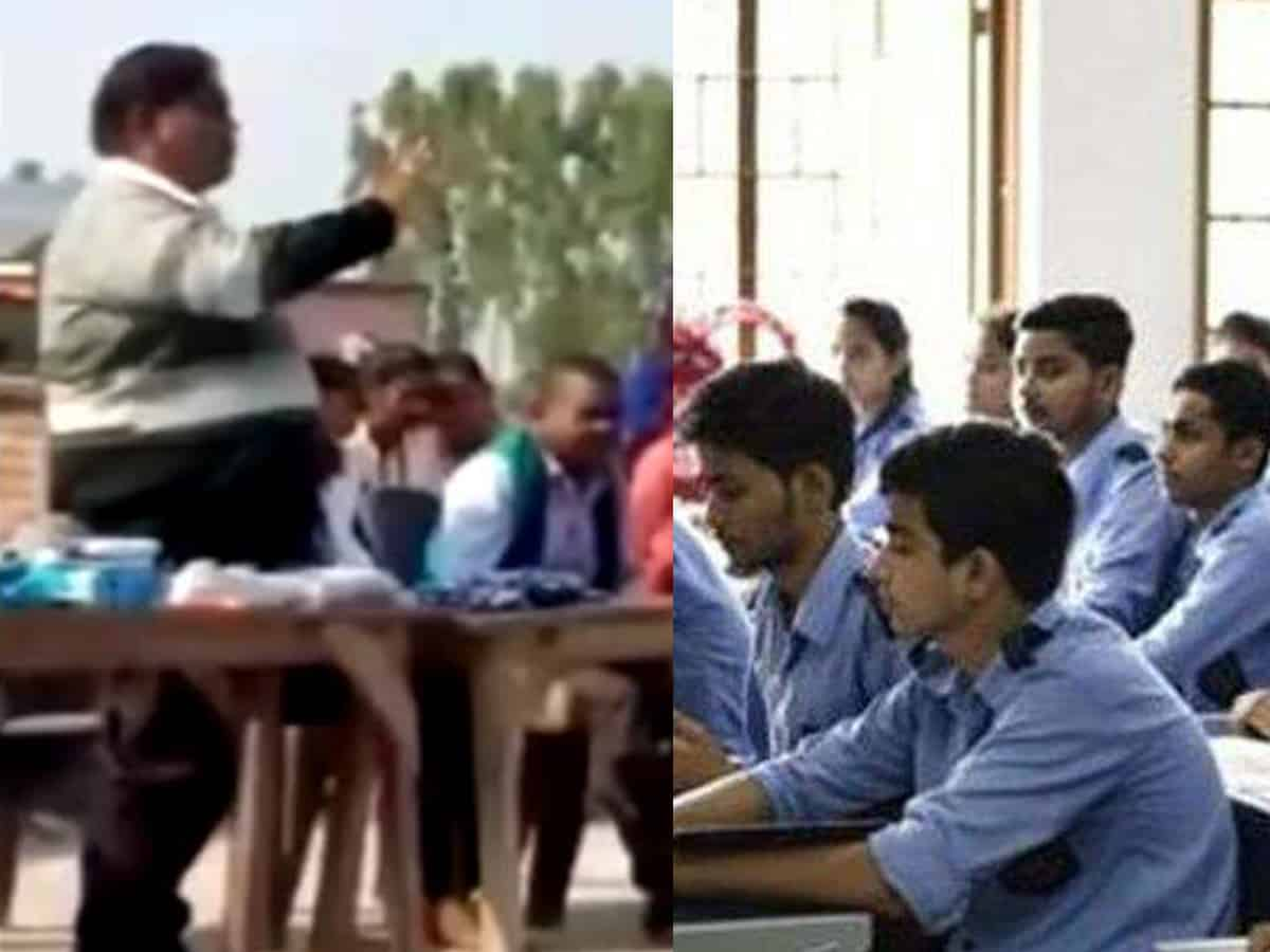 UP principal 'advises' students to place Rs 100 in answer sheets