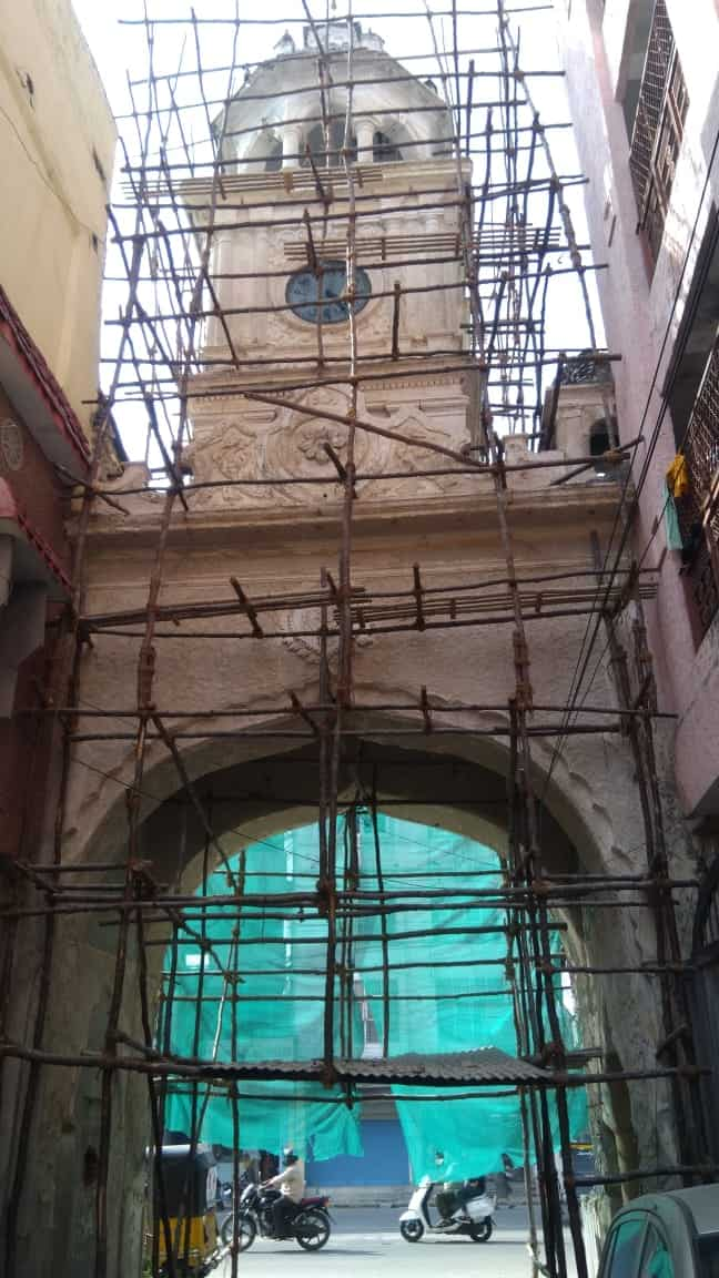 Shah Ali Banda clock tower all set to chime once again