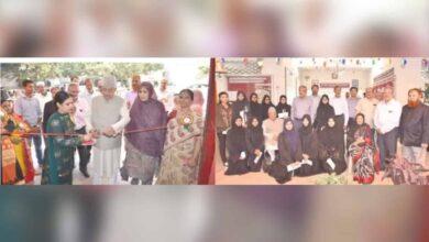 Photo of Zahid Ali Khan applauds talents of Mount Mercy school students