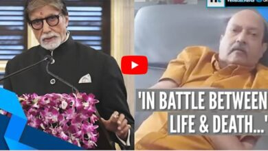 Photo of Amar Singh releases video of emotional regret towards Bachchans