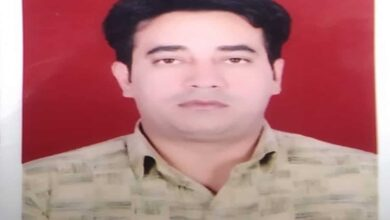 Photo of IB Officer Ankit Sharma found dead in Chand Bagh area of Delhi