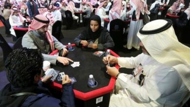 Photo of Saudi women break stereotype, join men at Baloot Championship