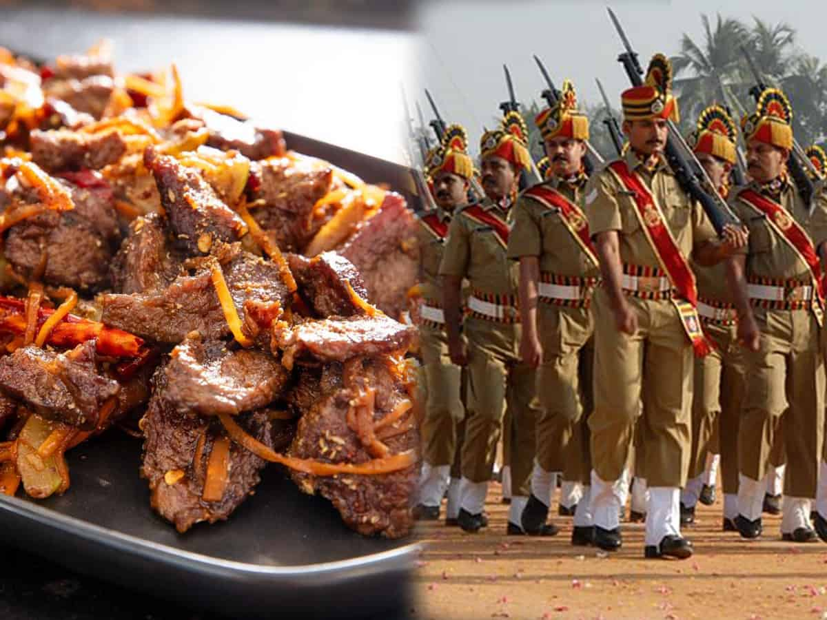 Kerala Police excludes beef from menu in training campaigns