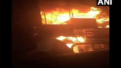 Photo of Three injured in cylinder explosion at Bengaluru hotel
