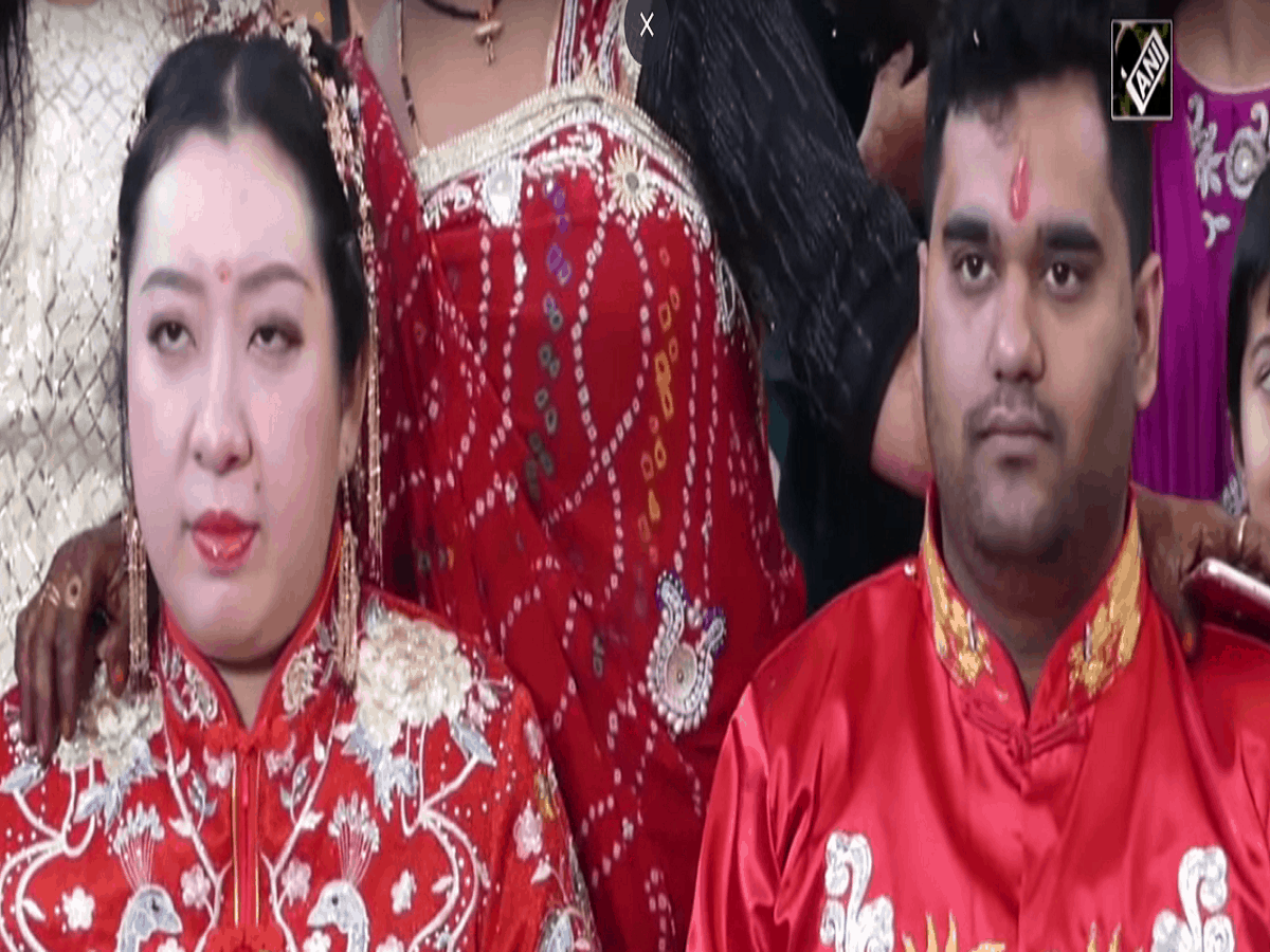 Zi Hao marries Siddharth with Indian rituals