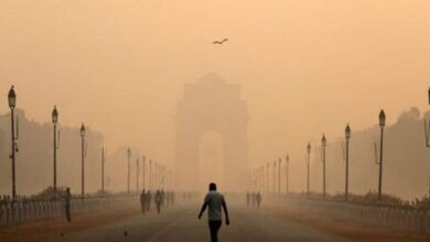 Photo of Delhi's air quality improves slightly