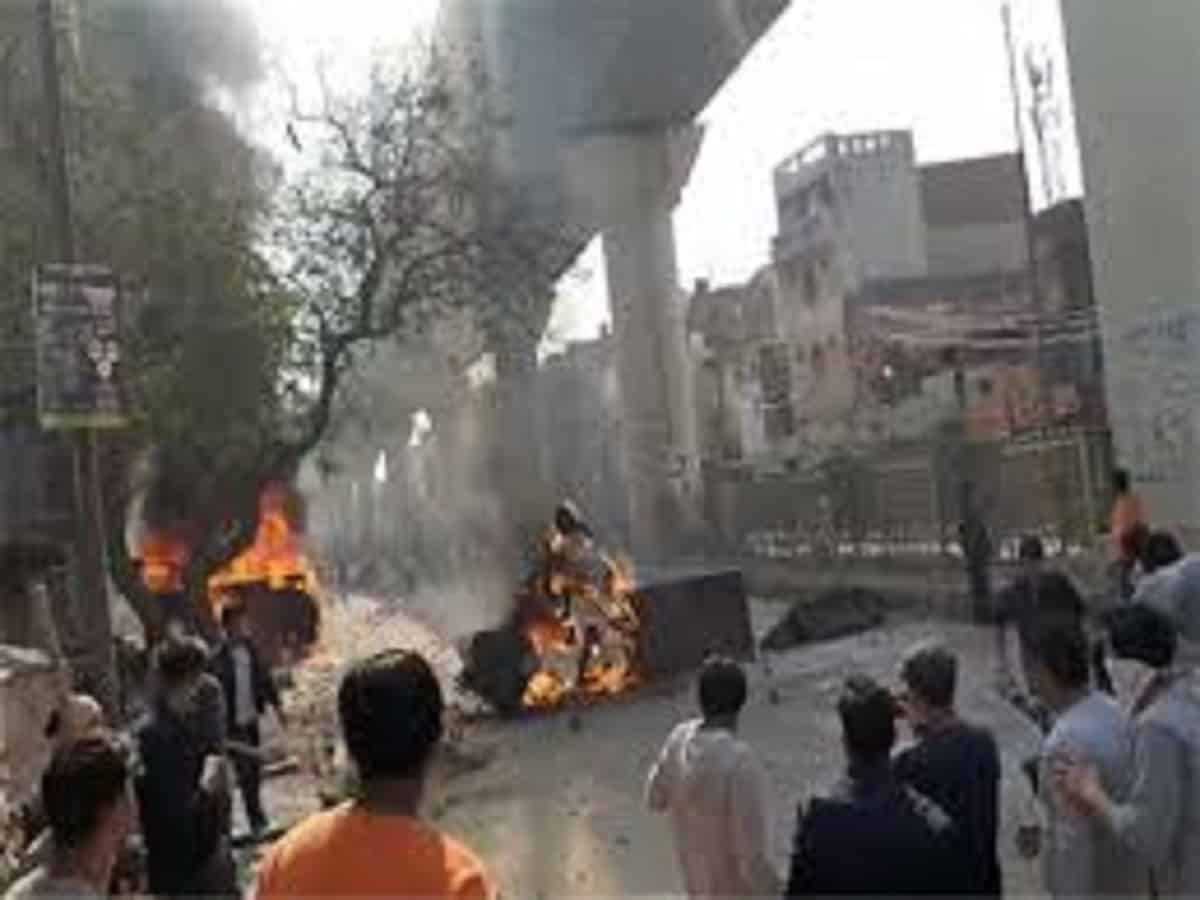 Violent protests in Delhi: Sec 144 imposed