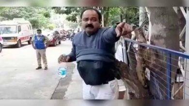 Photo of Suspended doctor creates flutter at Gandhi hospital in Hyderabad