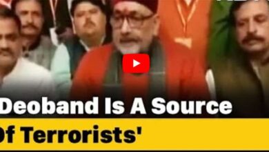 Photo of Deoband is 'Gangotri of terrorists', says Giriraj Singh