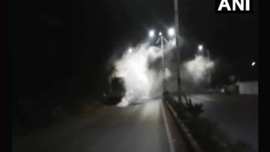 Photo of Ammonia gas leak from Haryana plant, 100 affected