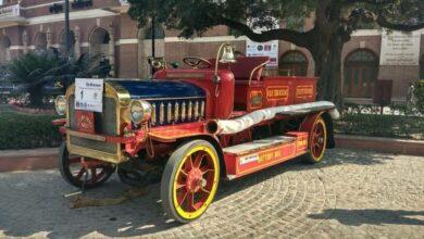 Photo of Nizam's John Morris fire engine secures trophy