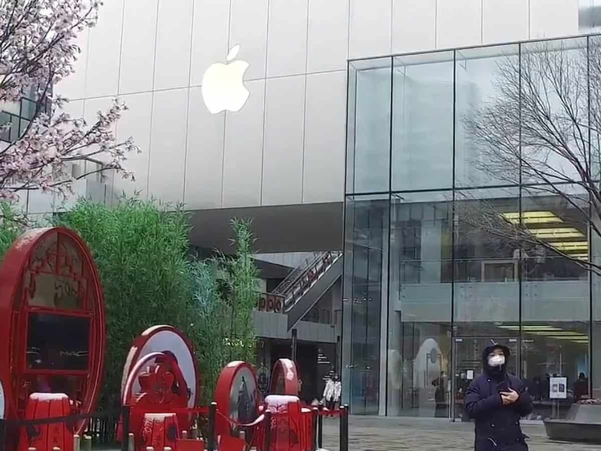 Apple Reopens Beijing Stores for Limited Hours