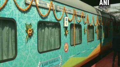 Photo of Kashi Mahakal Express flagged off from Indore