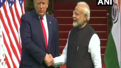 Photo of PM Modi, Trump hold one-on-one talks at Hyderabad House