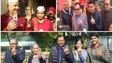 Photo of Delhi Assembly Elections: Key politicians exercise franchise