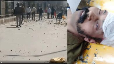 Photo of Head constable killed during clashes over CAA in Delhi