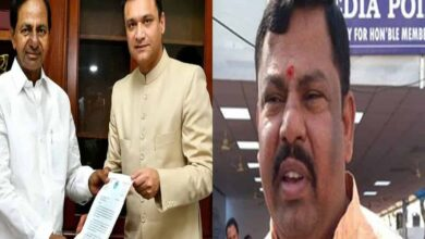 Photo of Raja Singh reacts after Akbaruddin sought Mahankali temple expansion