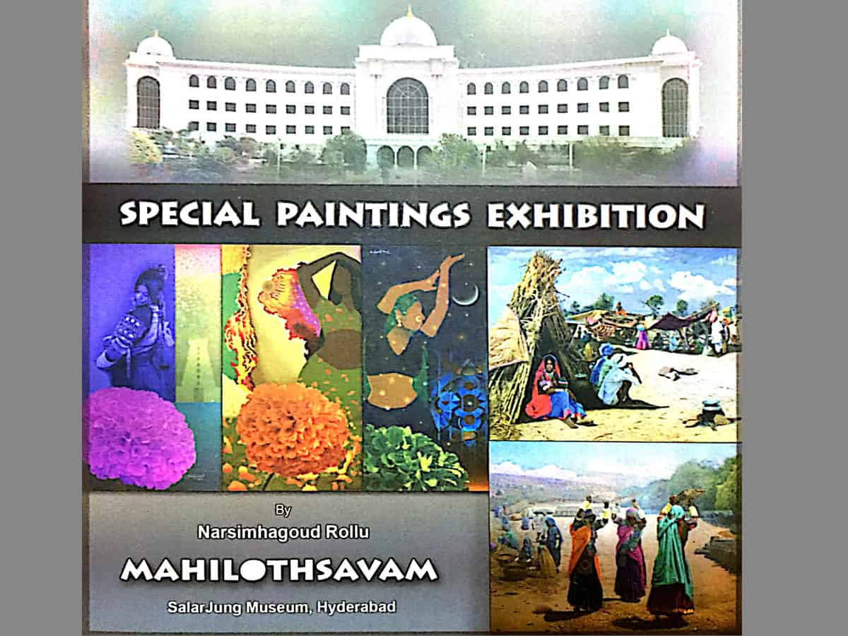 Mahiltohsavam art exhibition to be held at Salar Jung Museum