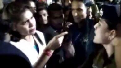 Photo of Verbal spat between female IPS officer, woman MLA in C'garh