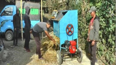 Photo of Manipur based brothers create low-cost paddy threshing machine
