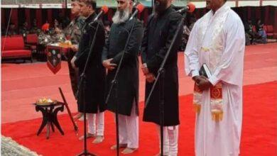 Photo of Inter-faith prayer held at new army HQ, twitterati laud