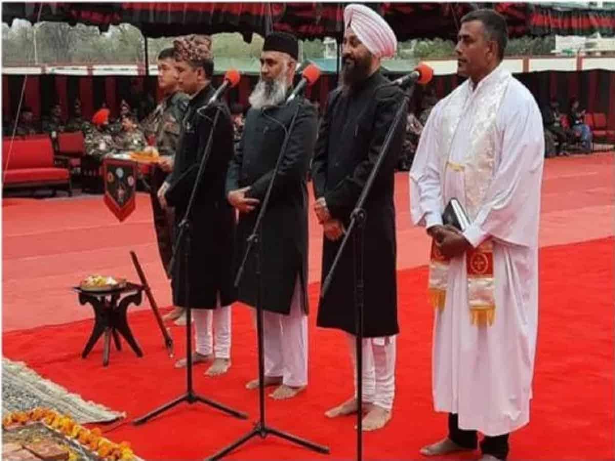 Inter-Faith Prayer Ceremony at New Army HQ