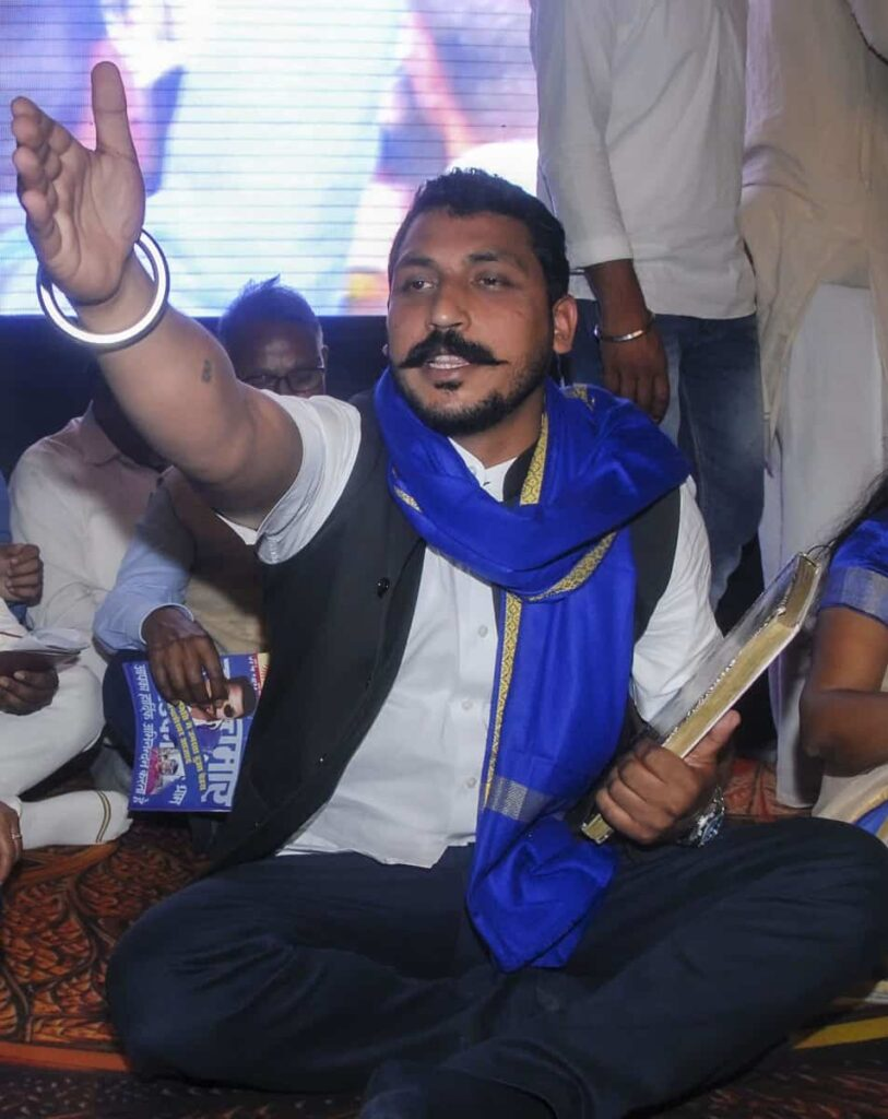Chandrashekhar Azad Launches Azad Samaj Party