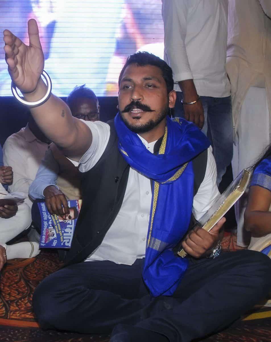 Chandrashekhar Azad Launches Azad Samaj Party