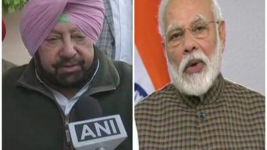 Photo of PM Modi extends greeting to Amarinder Singh on his 76th birthday