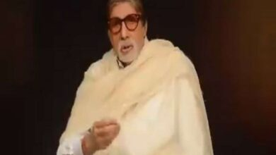 Photo of Big B compares human beings in lockdown to caged animals