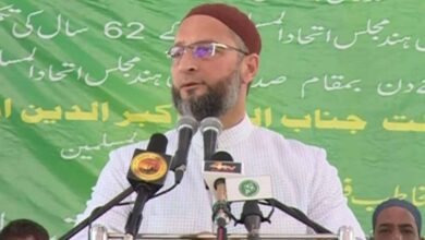 Photo of GHMC polls: Owaisi challenges BJP to reveal names of 1,000 Rohingyas in voters list