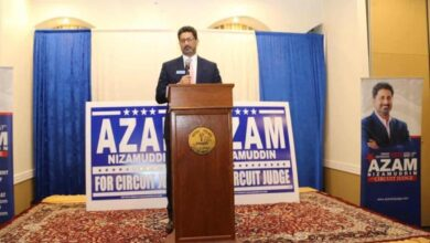 Photo of Chicagoland rallies behind Azam for Circuit Court Judge