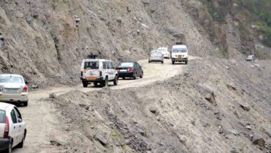 Photo of 3 killed in landslide on Badrinath highway