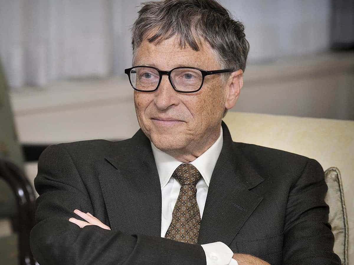 Co-founder of Microsoft Corporation - Bill Gates