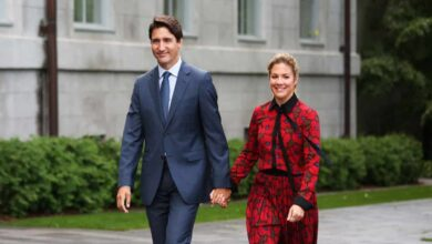 Canadian Prime Minister Justin Trudeau and Sophie Gregoire Trudeau