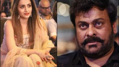 Photo of Trisha walks out of Chiranjeevi film over 'creative difference'