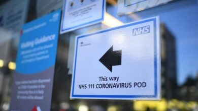 Photo of London hospitals facing 'tsunami' of virus patients: NHS