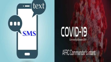 Photo of SMS alert for creating awareness on COVID-19 launched